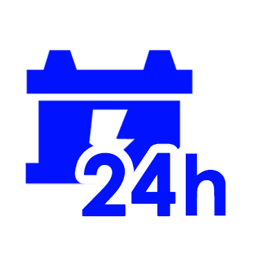 Sprzedaż akumulatorów 24 godziny na dobę